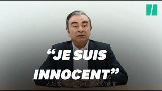 """Carlos Ghosn accuse des dirigeants de Nissan de """"trahison"""" et de """"conspiration"""""""