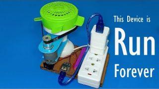 Free energy , Forever running device , 220V generator using only 3.7 V