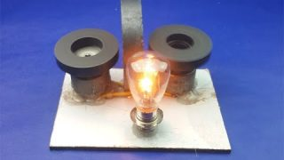Magnets Generator Using DC Motor | Free Energy Creative Science Project At Home