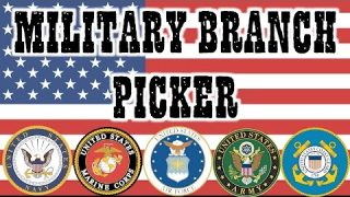Military Branch Picker: What Military Branch Should I Choose?