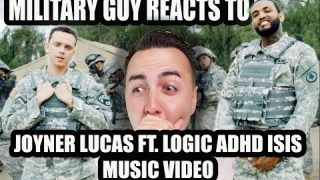 MILITARY GUY REACTS TO JOYNER LUCAS FT. LOGIC ISIS ADHD MUSIC VIDEO