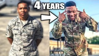 MY 4 YEAR TRANSFORMATION | Joining the Military
