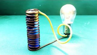 New Science project 2019 –  Free energy Generator 12 Volt  with Magnet Speaker