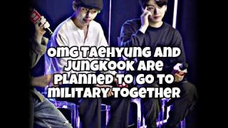 Taekook-about military and moments in iheartstudio more