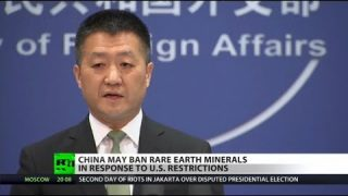 Tech, military to be hit by China's minerals ban to US