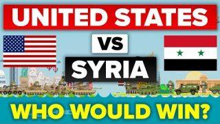 USA vs Syria – How Do They Compare? Military Comparison