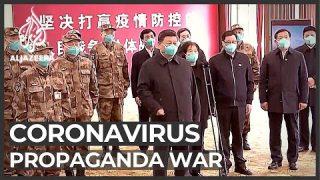 US and China trade barbs over origin of coronavirus