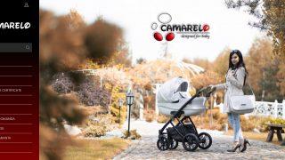 Caruciorul Camarelo -perfect pentru copilul dumneavoastra