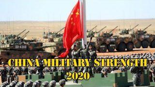 China Military Strength 2020