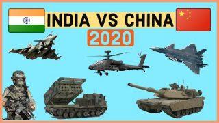 INDIA VS CHINA Military Power Comparison 2020