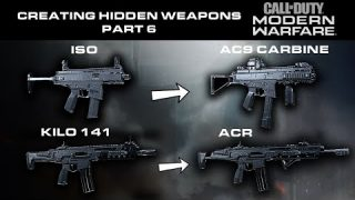 Modern Warfare Warzone – Creating Hidden Weapons Part 6