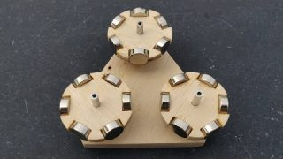 Free Energy Generator Using Triangle Neodymium Magnet Force