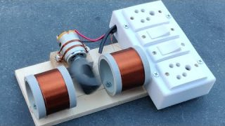Most Powerful Free Energy Generator at 220V
