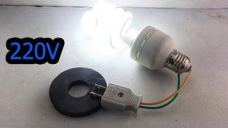 Technology Free Energy Generator Using Magnet Speaker 100%
